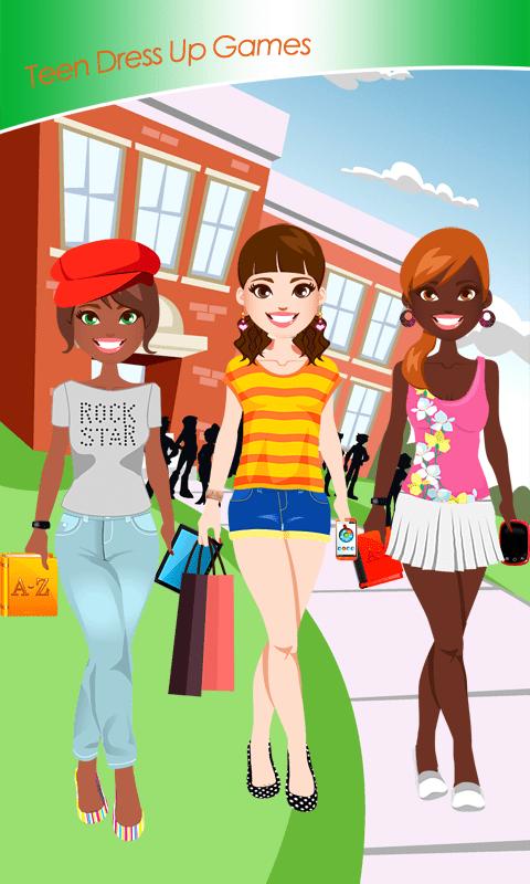 Teen Dress Up Games
