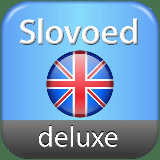 English Explanatory Slovoed Deluxe talking dictionary 7.6