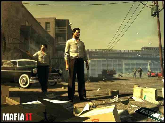 Fondo de escritorio: Mafia II