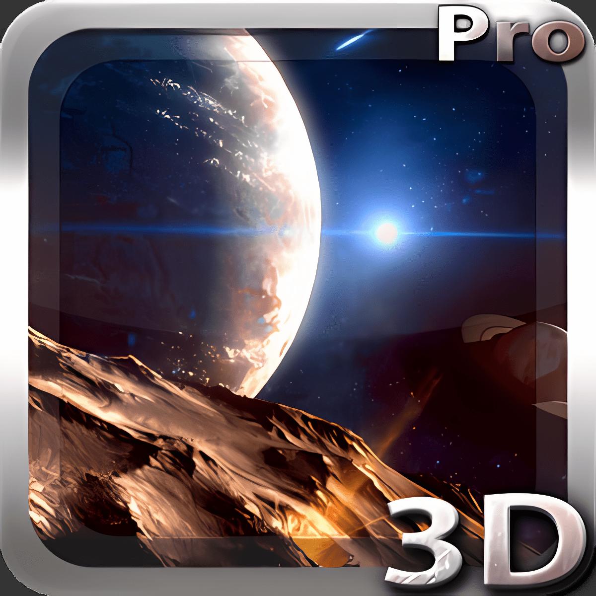 Planetscape 3D Live Wallpaper