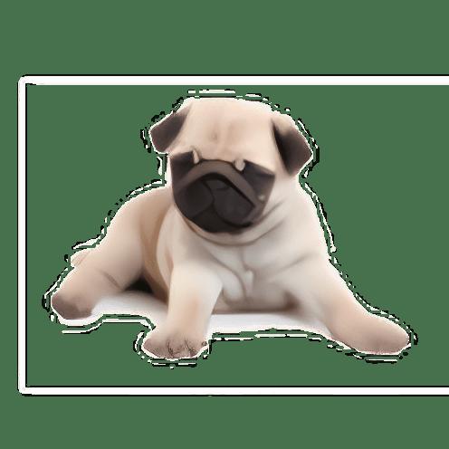 Perro limpiador de pantalla
