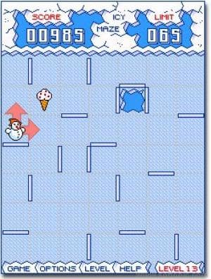 Icy Maze