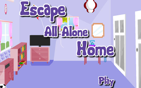 Escape All Alone Home