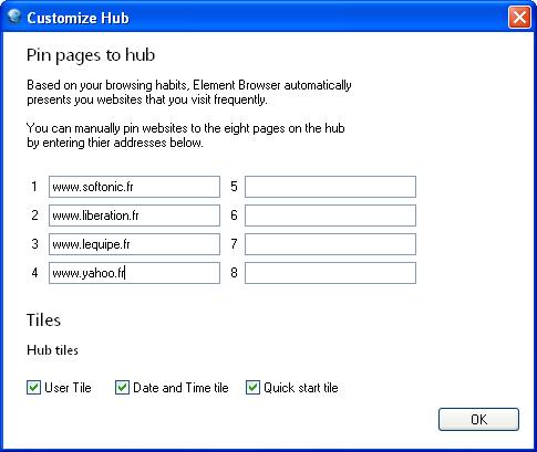 Element Browser