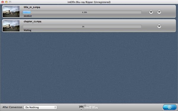 ImElfin Blu-Ray Ripper for Mac
