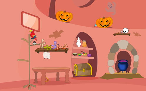 Escape Halloween Abigail Lair