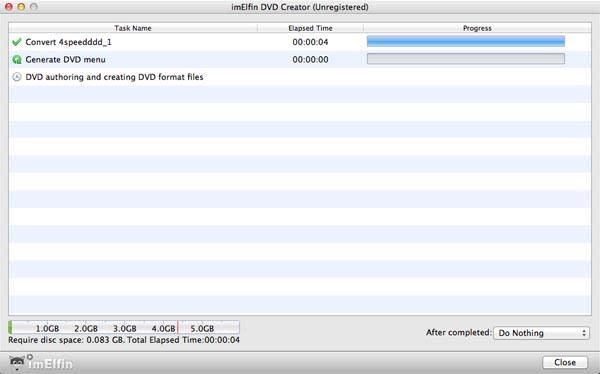 ImElfin DVD Creator for Mac