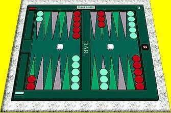 David's Backgammon Game