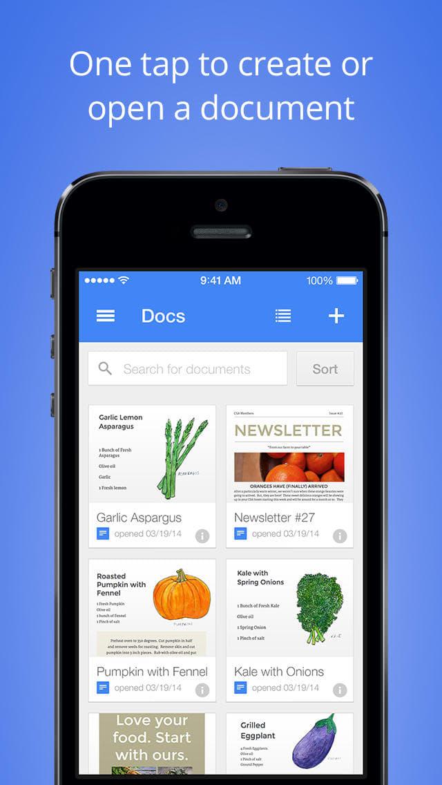 Google Documents