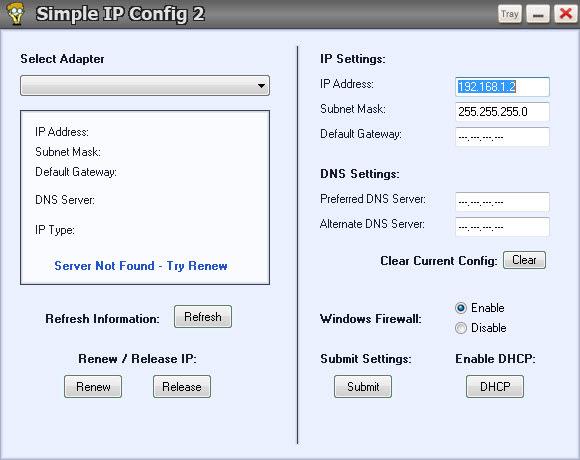 Simple IP Config