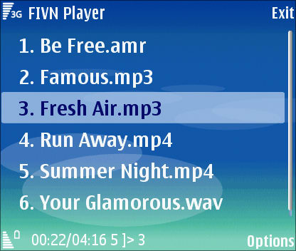 FIVN Player