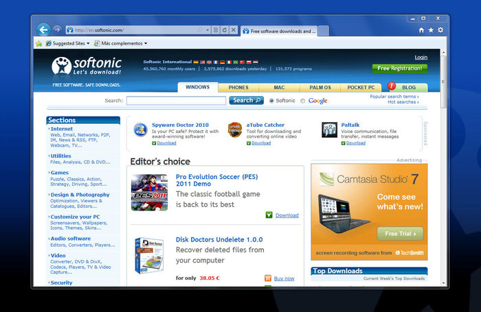 Windows XP SP3 and Internet Explorer 8 problems