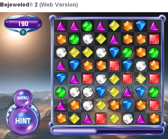 Bejeweled 2 Online Funnygames Bejeweled 2