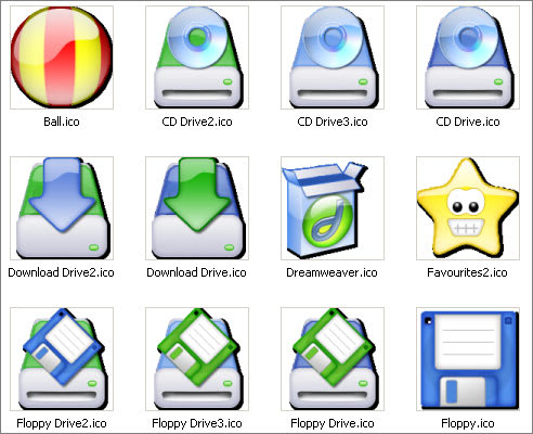 XP iCandy 2 Icons