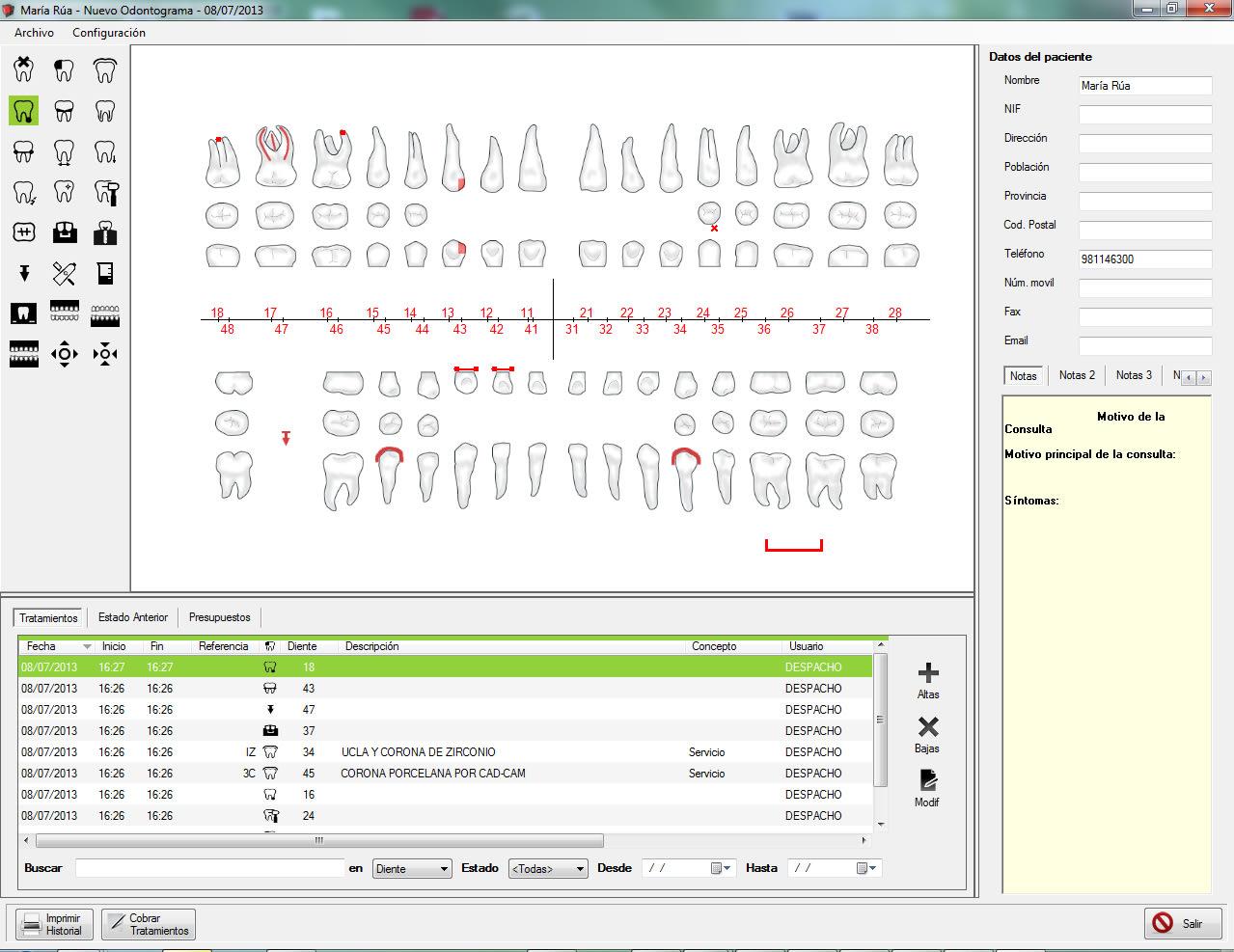 MNprogram Software Odontólogos