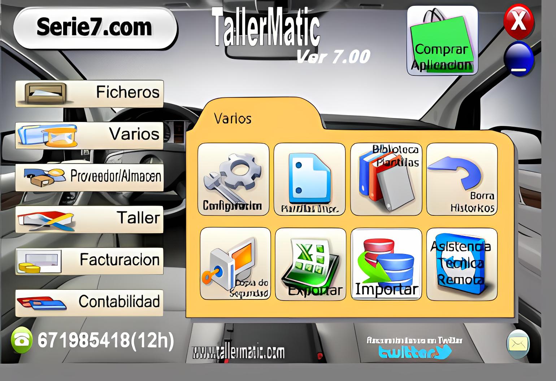 TALLERMATIC VER 7.05