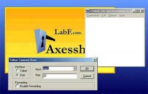 Axessh Windows SSH Client