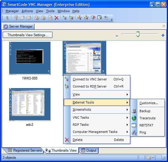 SmartCode VNC Manager