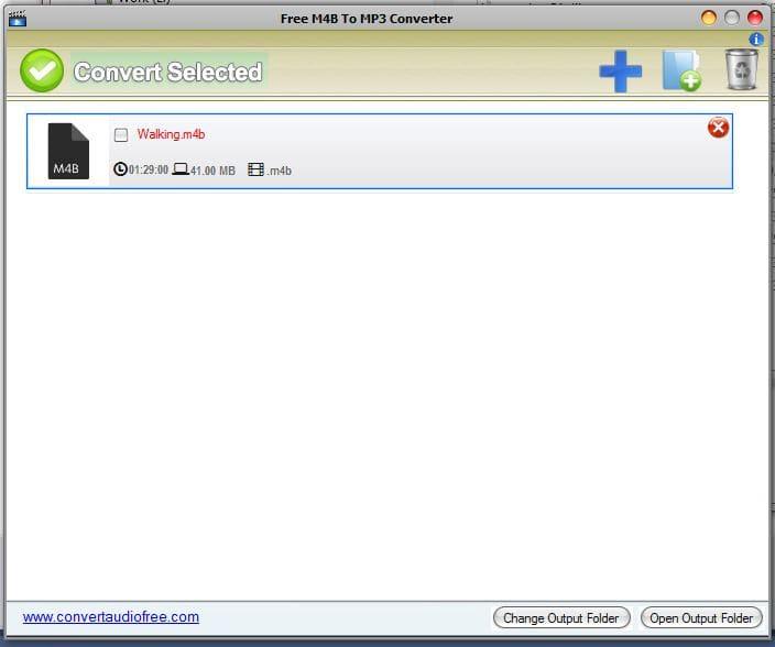 Free M4B to MP3 Converter