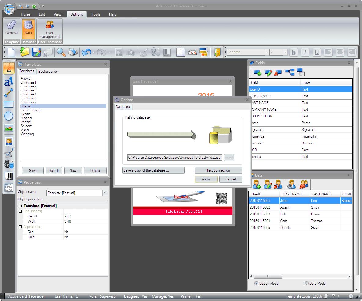 Advanced ID Creator