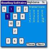 Bowling Solitaire