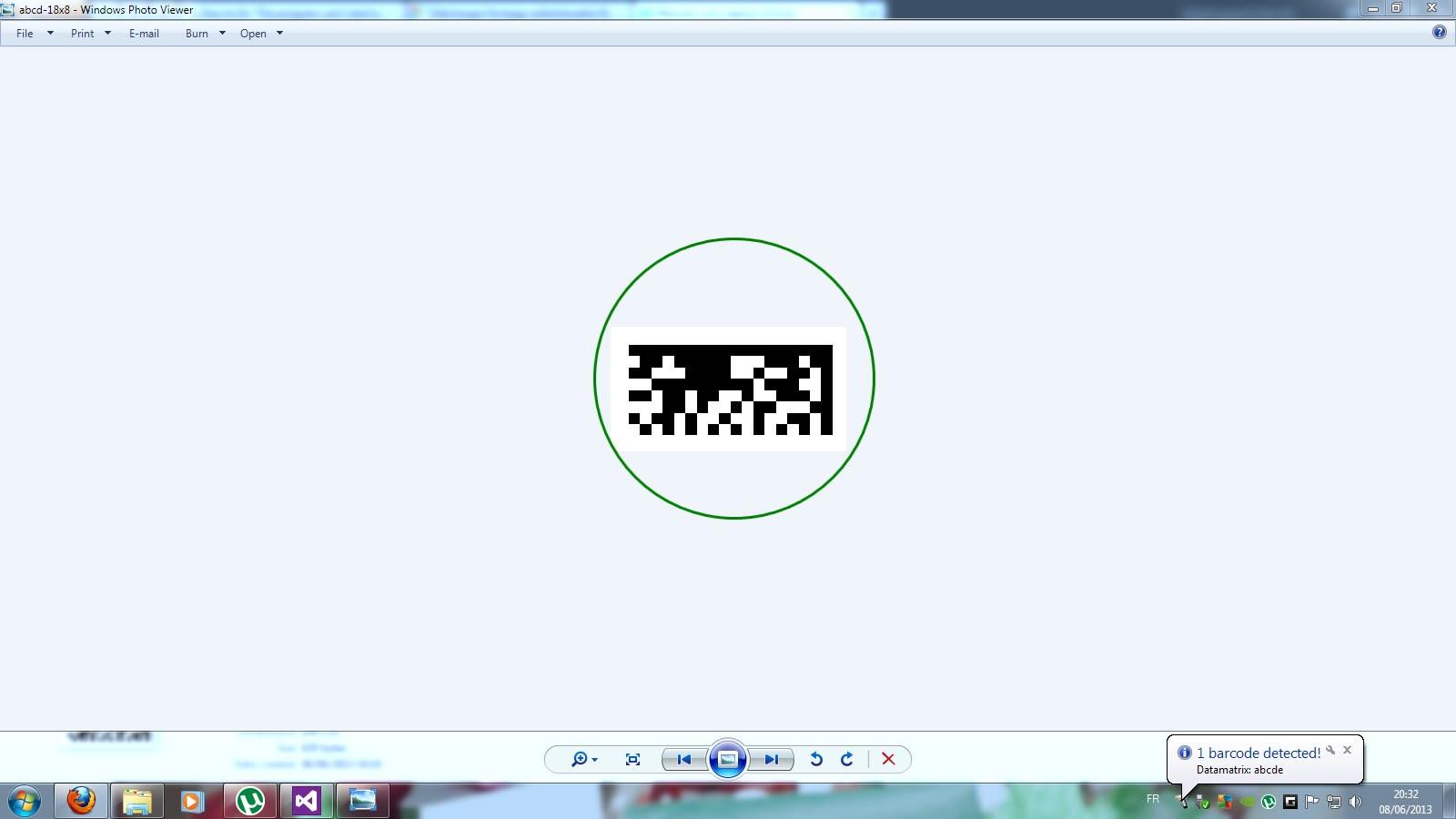 ORPALIS Virtual Barcode Reader