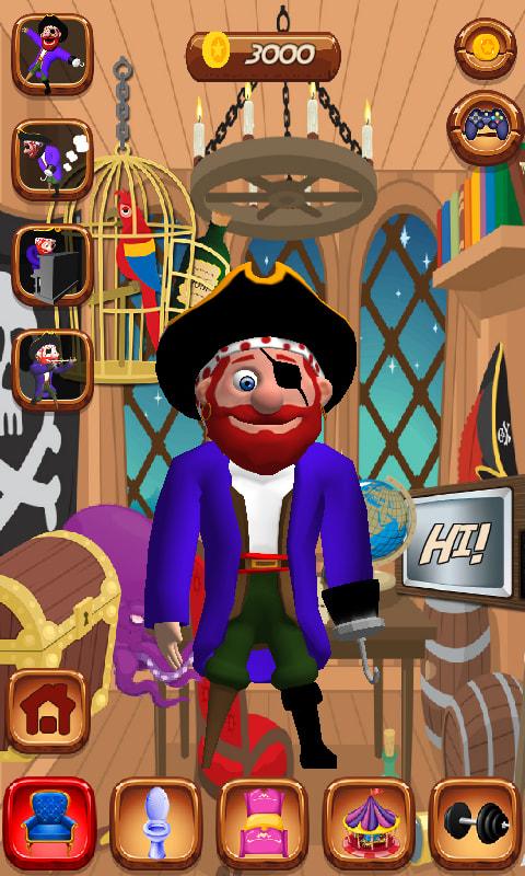 Talking Pirate