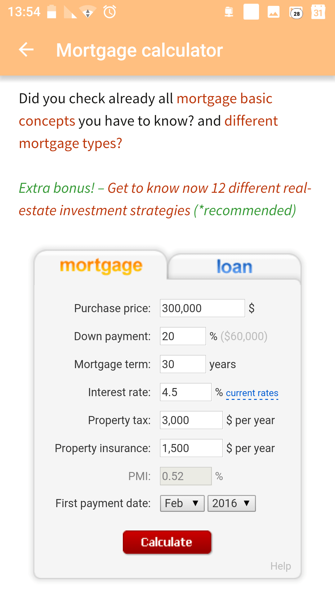 Mortgage loans mini-course
