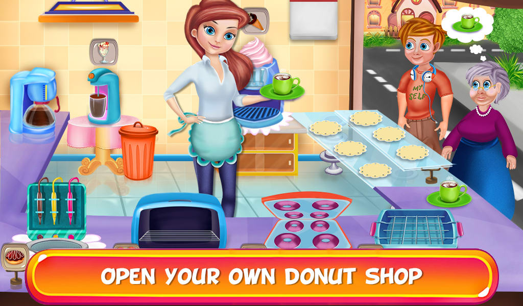 My Sweet Donut Cafe