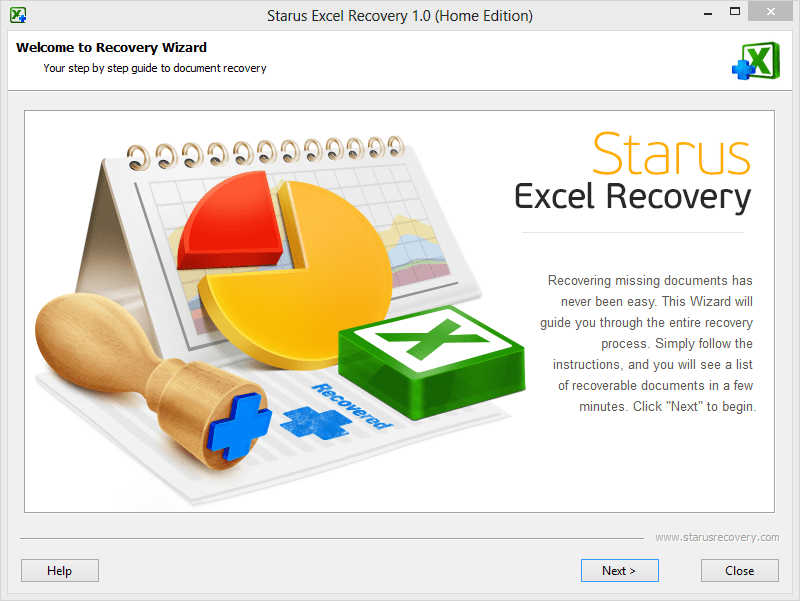 Starus Excel Recovery