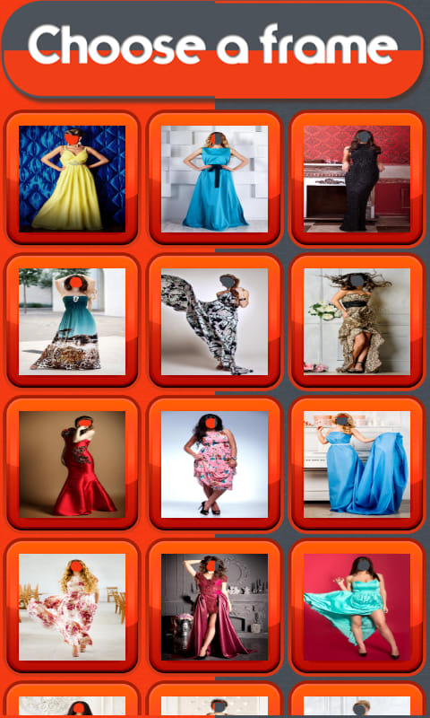 Woman Long Dress Photo Editor