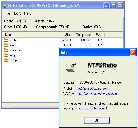 NTFSRatio