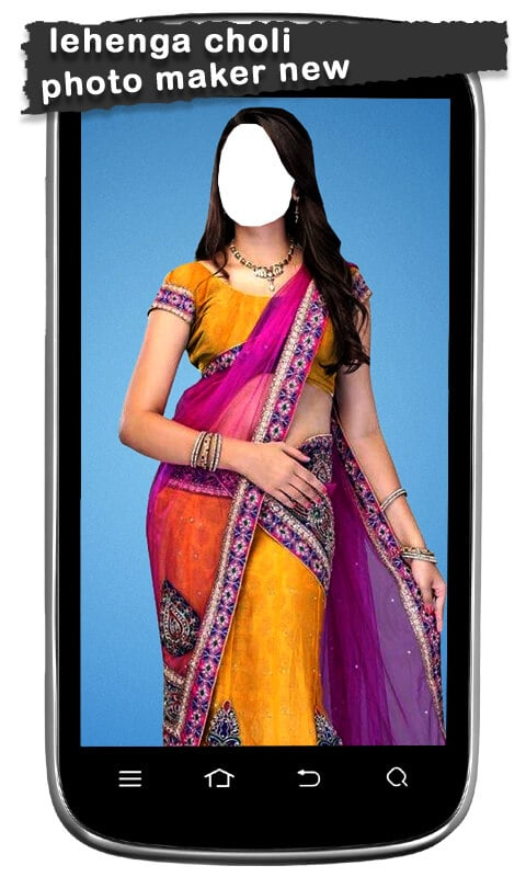 Lehenga Choli Photo Maker New