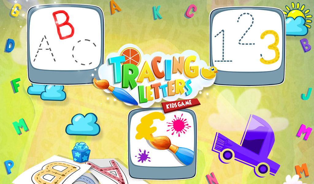 Tracing Letters Kids Game