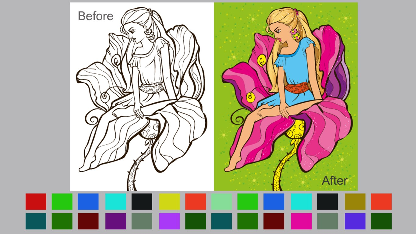 Coloring book software - Softonic Review