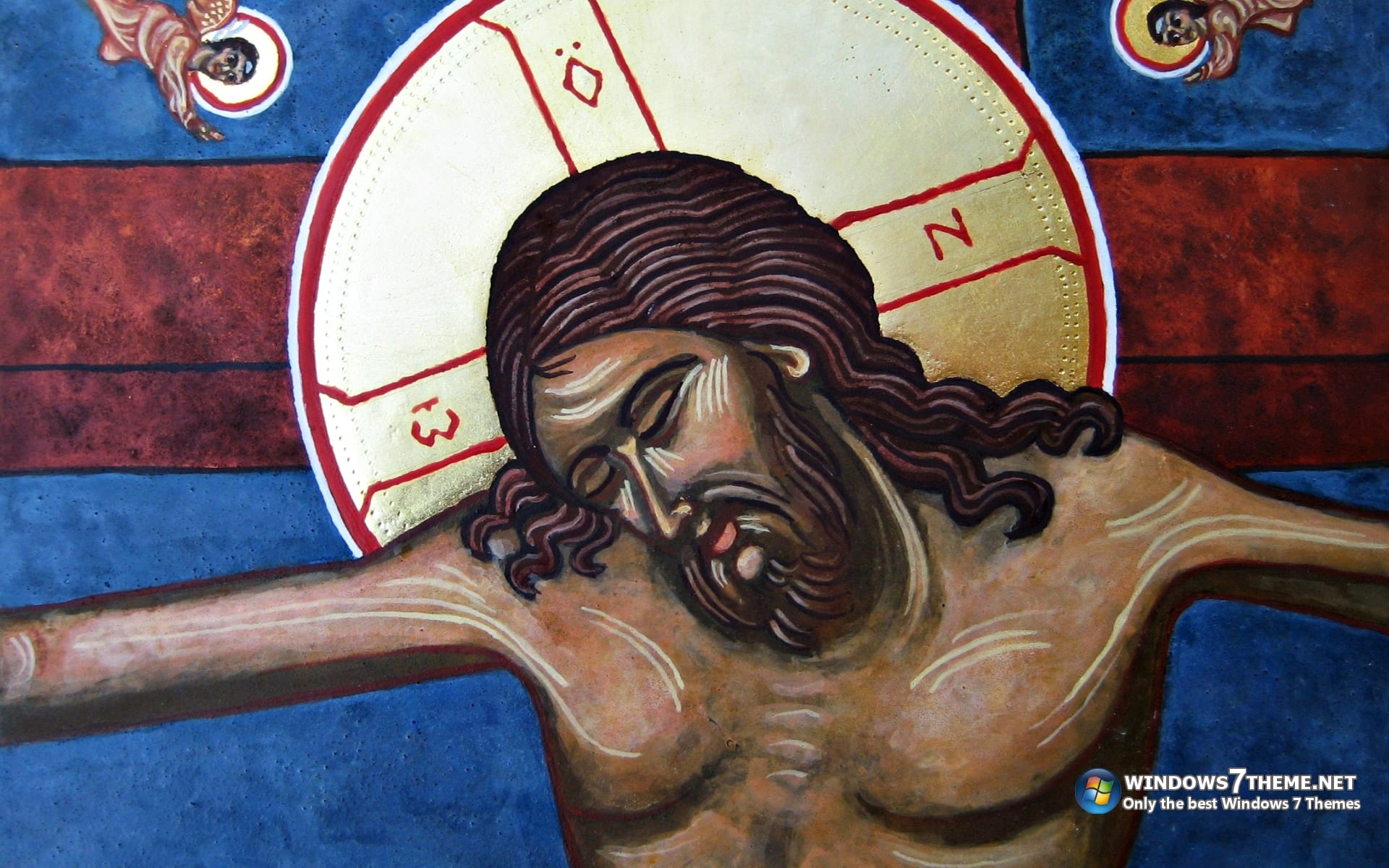 Jesus Christ Windows 7 Theme