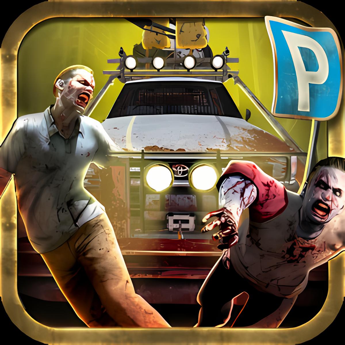 zombie aparcamiento muertos