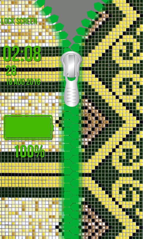 Islamic Zipper Lock Screen