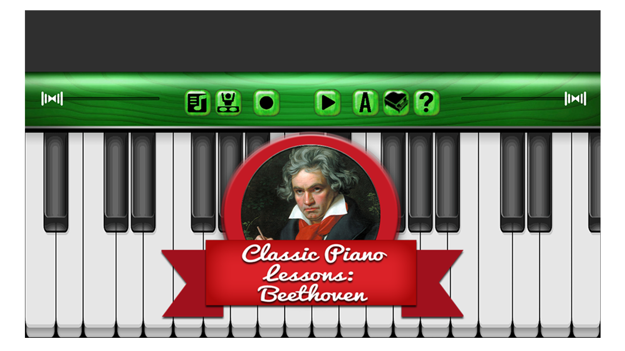 Classic Piano Lesson Beethoven