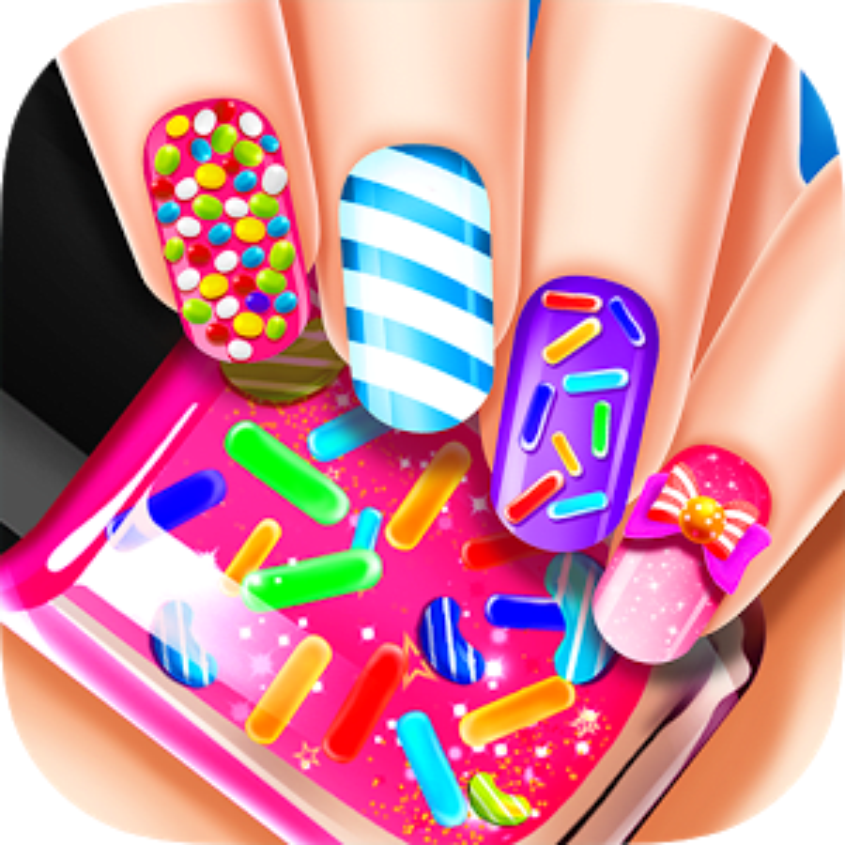 Magic Beauty Candy Nails Salon 1.0