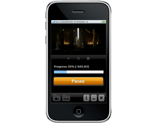ALLConverter to iPhone Portable