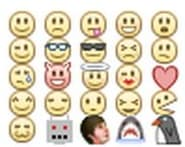 Emoticonos de Facebook