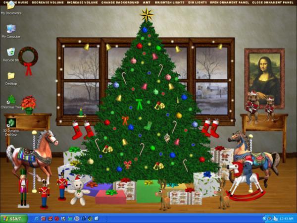Christmas Tree Interactive Desktop