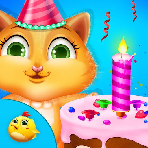 Kitty Birthday Party Time