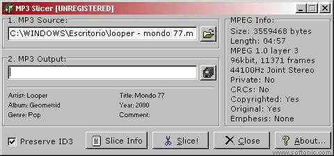 MP3-Slicer