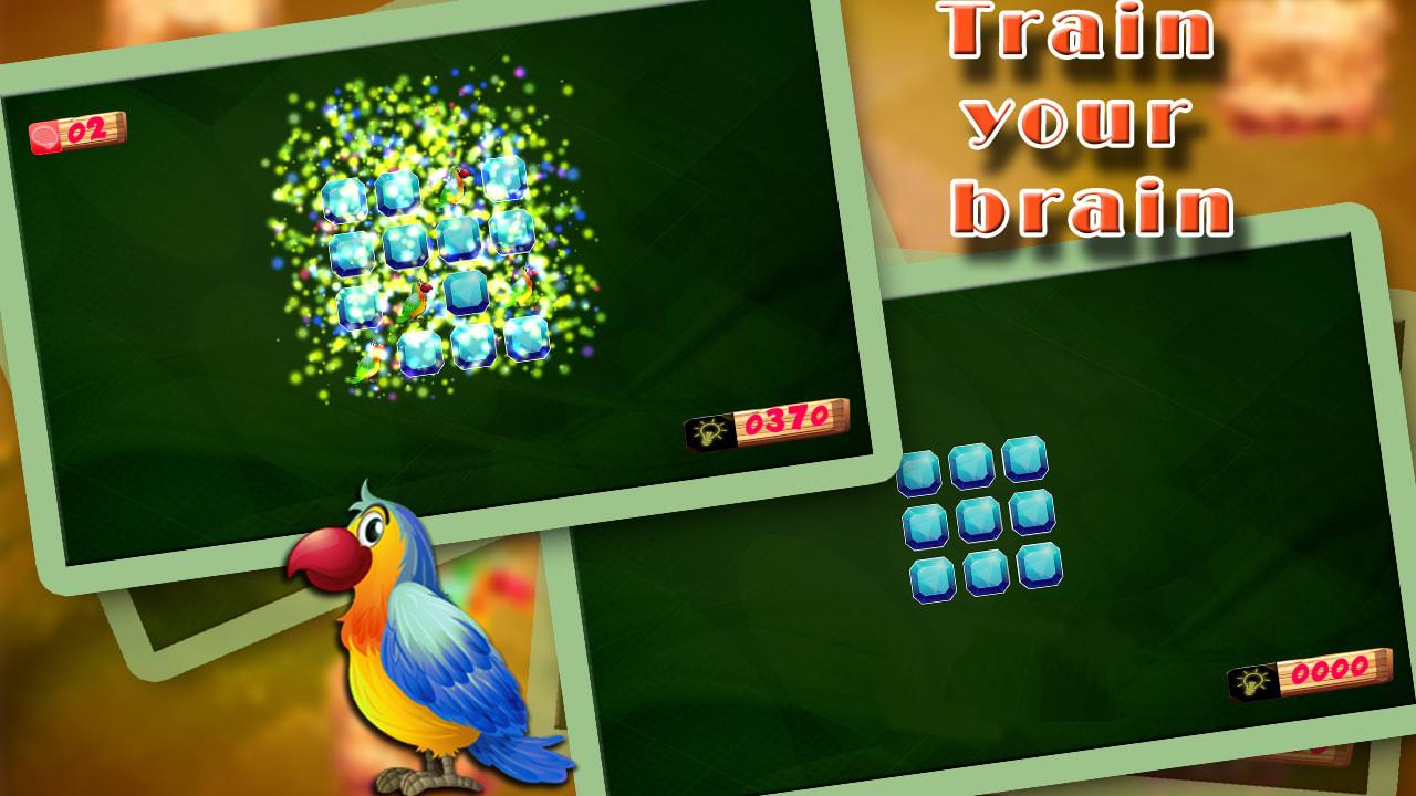 Birds Kids Memory Puzzle