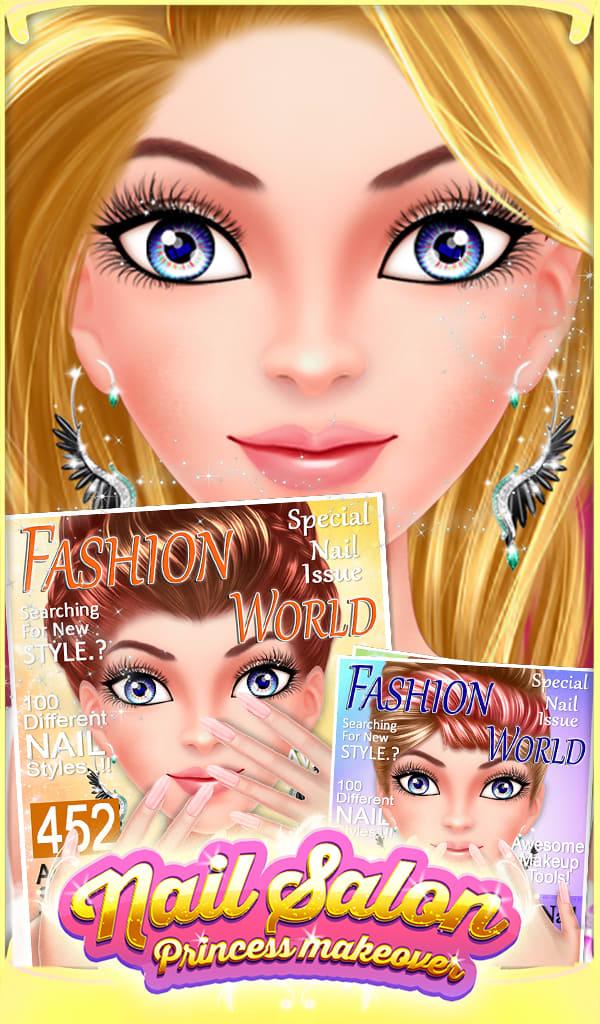 Nail Salon Princess Makeover