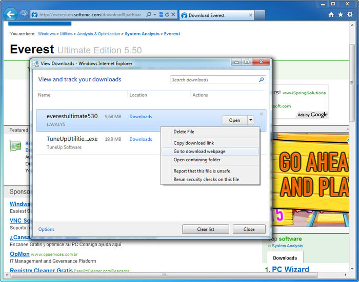 Internet Explorer or Sp1 full download - Dell Community