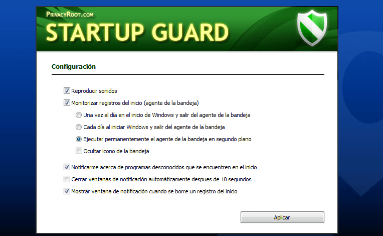 Startup Guard