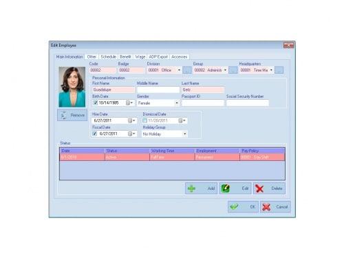AMG Employee Attendance Software